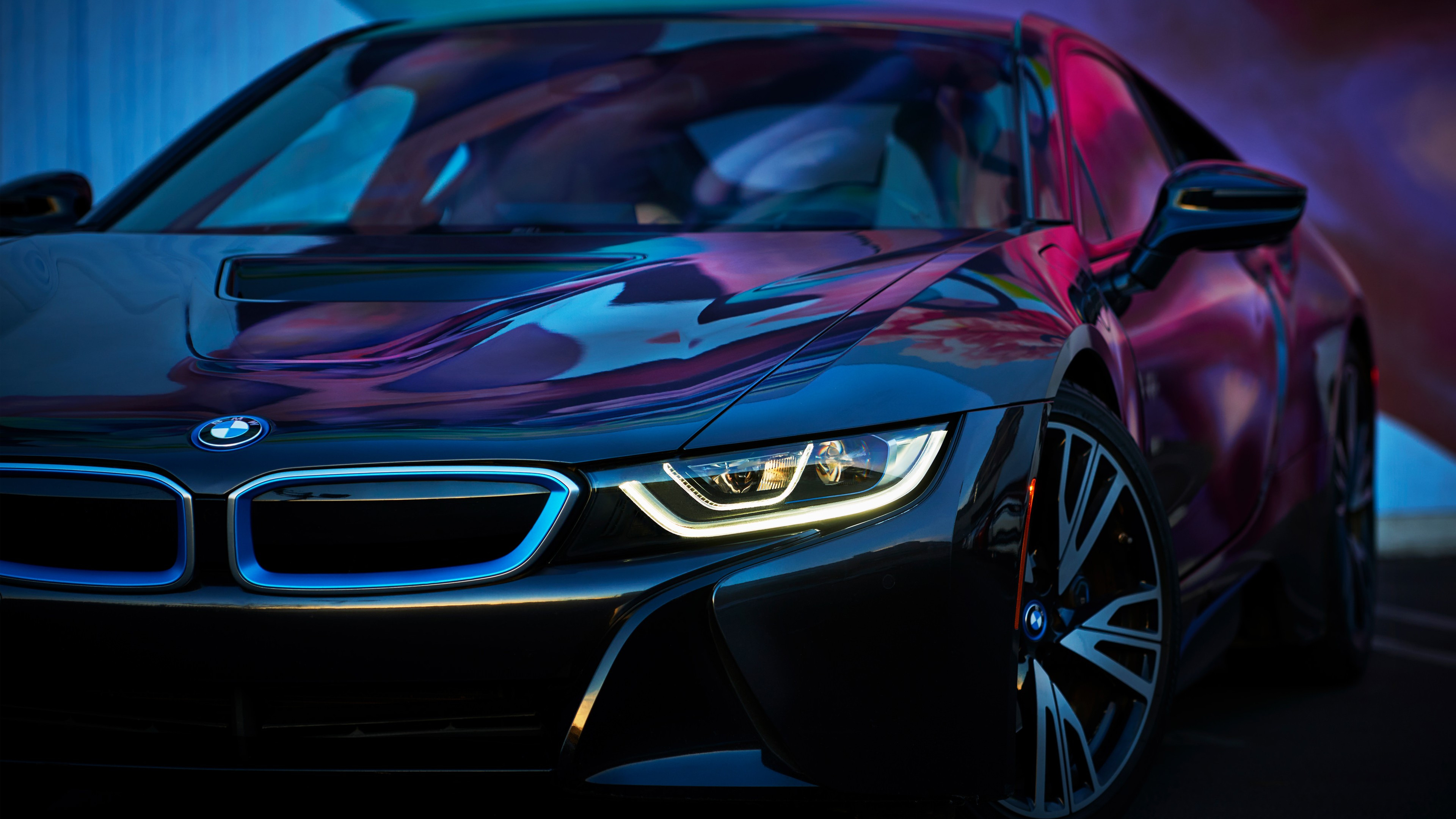 BMW i8 wallpaper 3840x2160