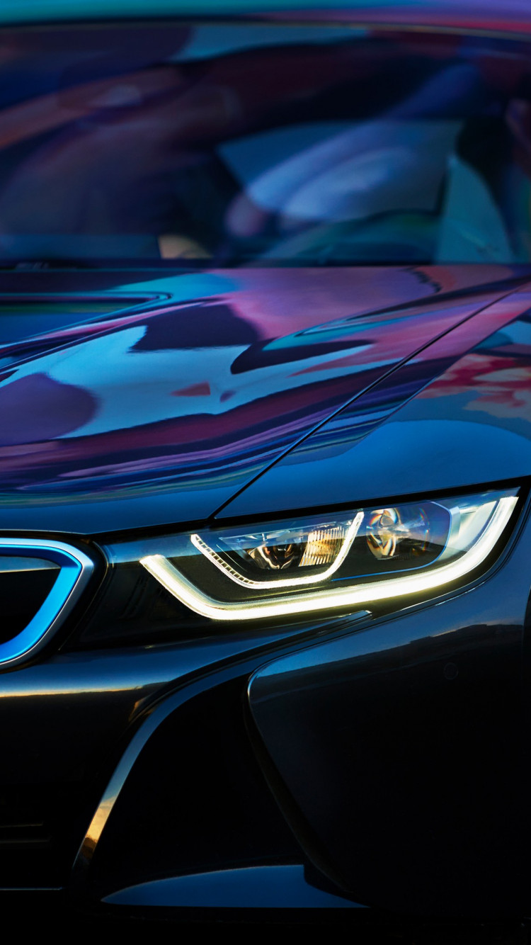 BMW i8 wallpaper 750x1334