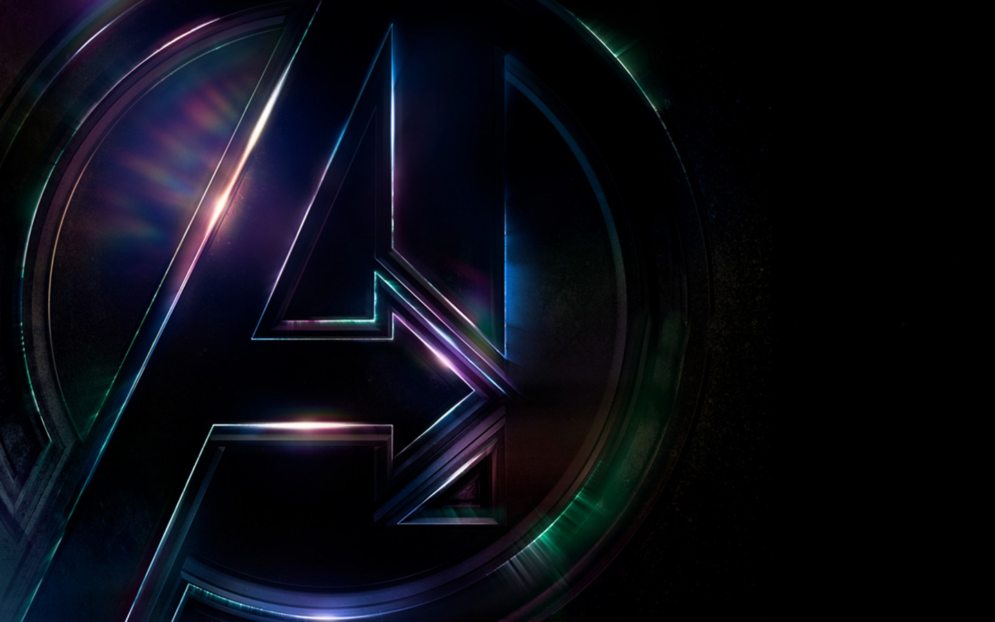 Logo of Avengers Infinity War wallpaper 1440x900