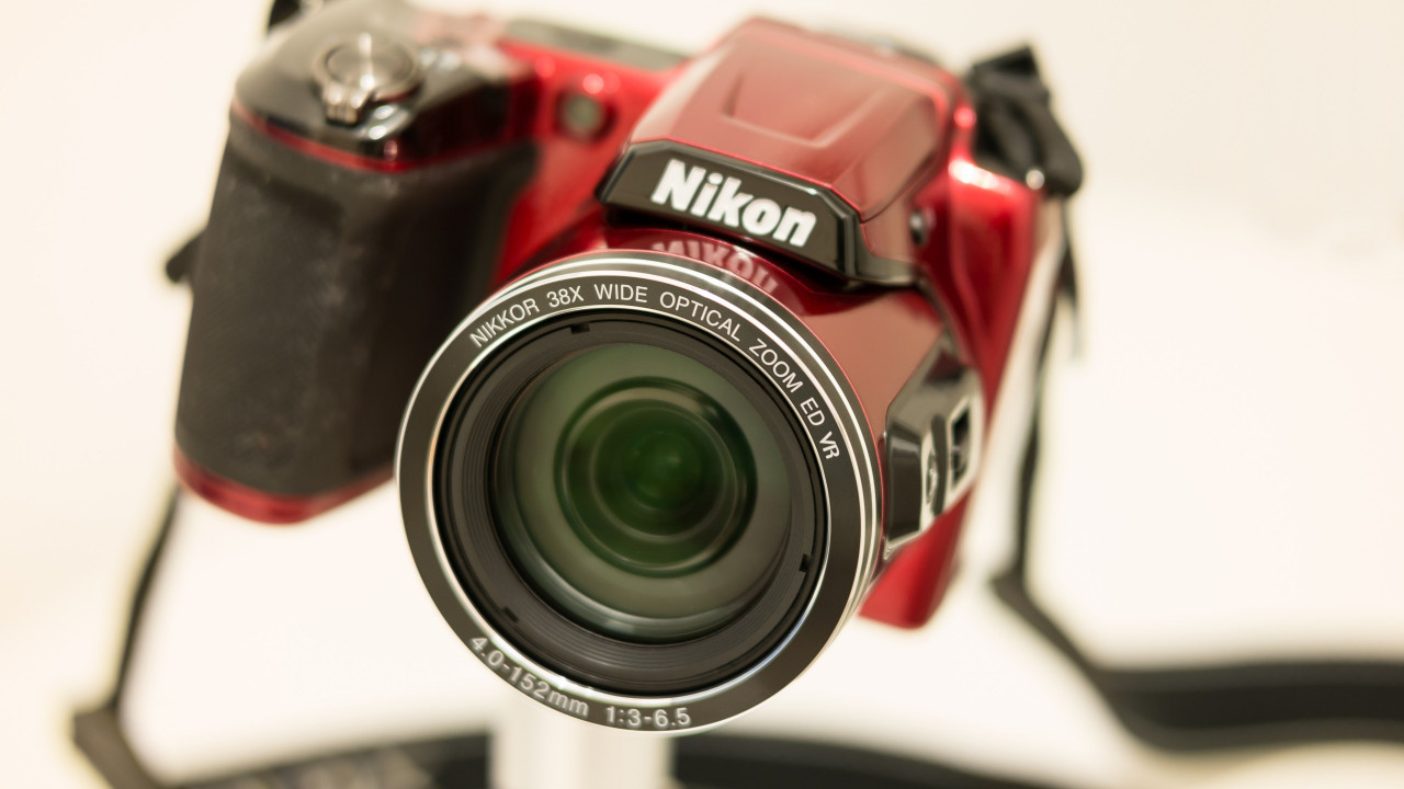Nikon Camera with Nikkor lens wallpaper 1280x720