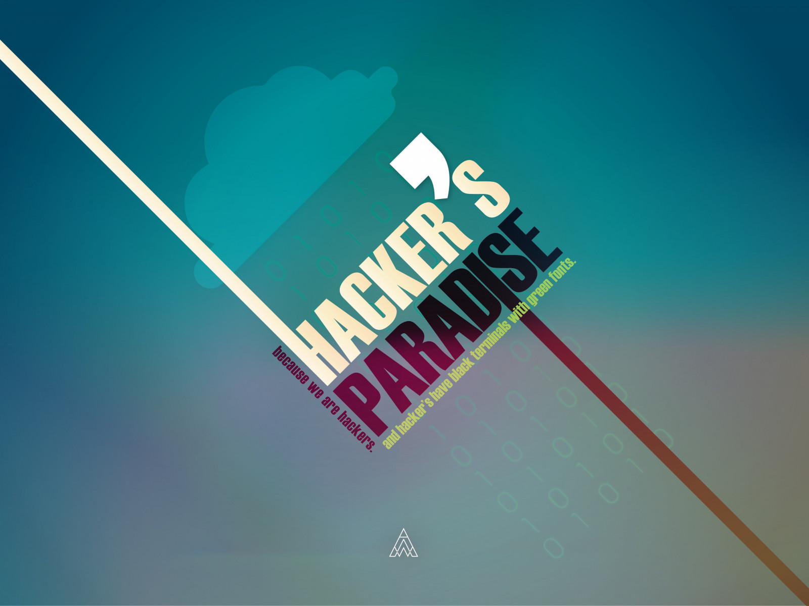 Hacker's Paradise wallpaper 1600x1200