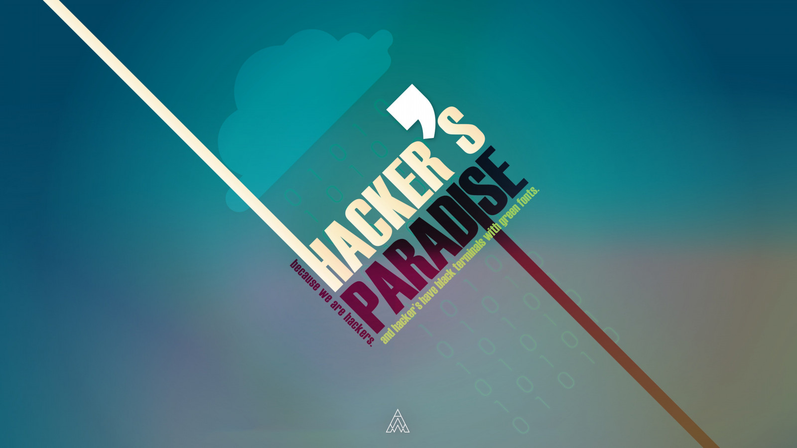 Hacker's Paradise wallpaper 1600x900