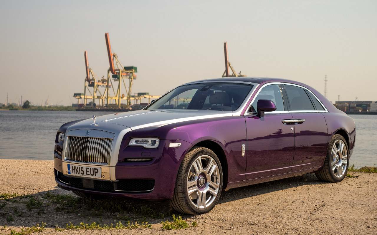 Rolls Royce Ghost wallpaper 1280x800