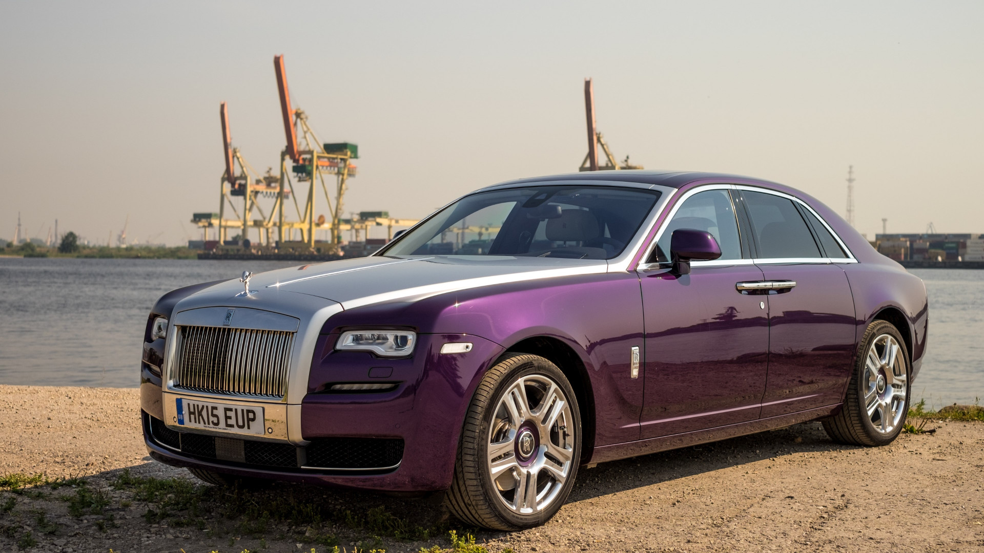 Rolls Royce Ghost wallpaper 1920x1080