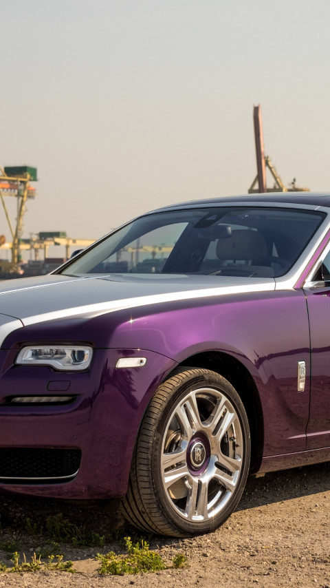 Rolls Royce Ghost wallpaper 480x854