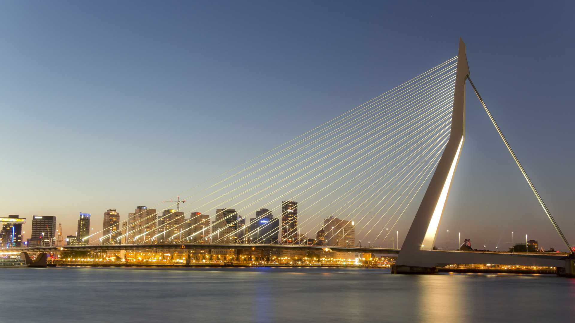 Erasmus bridge | 1920x1080 wallpaper