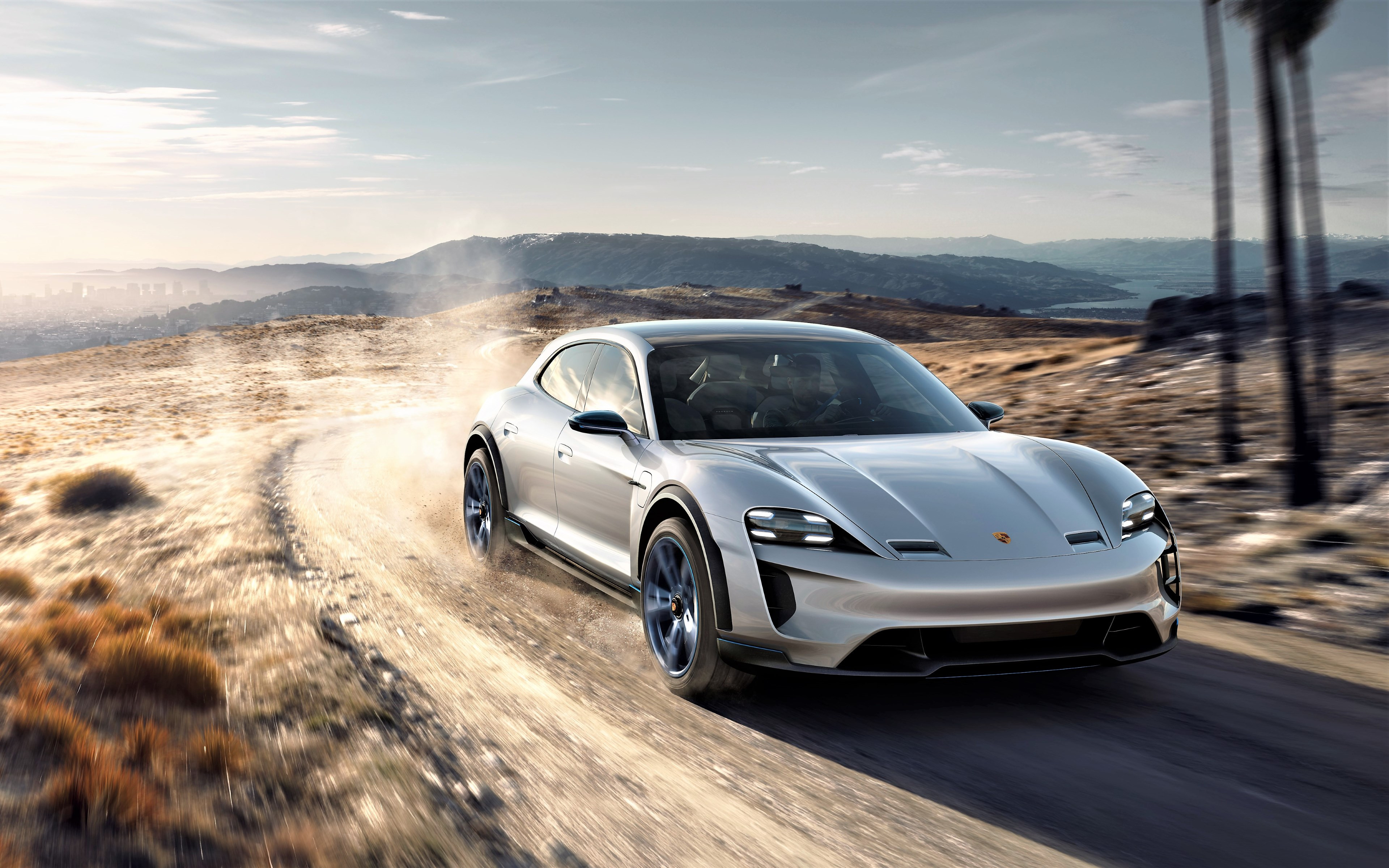 Porsche Mission E 2019 wallpaper 3840x2400