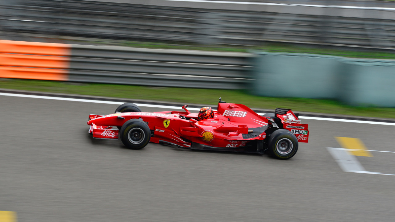 Ferrari F1 wallpaper 1280x720