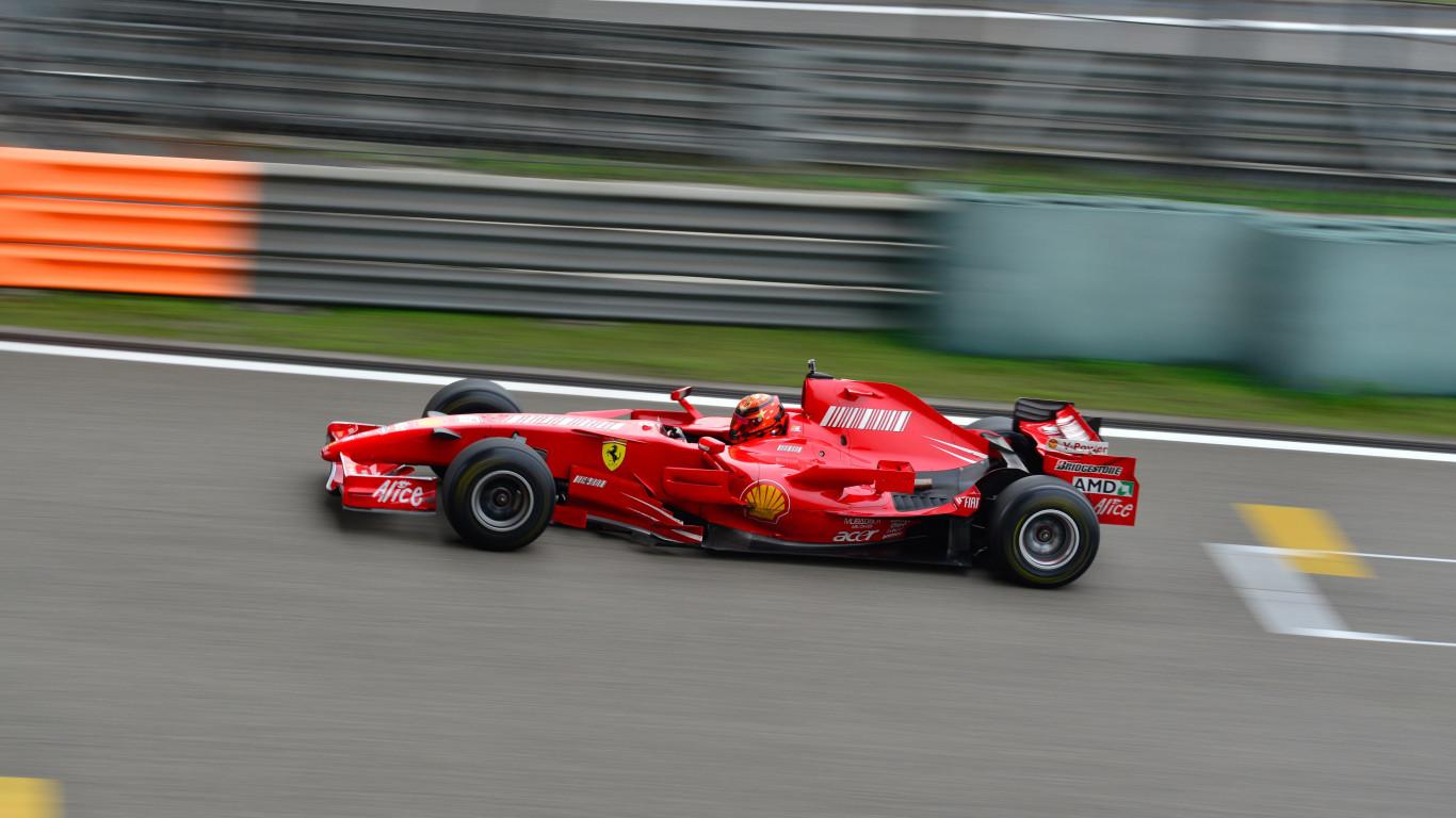 Download Wallpaper Ferrari F1 1366x768