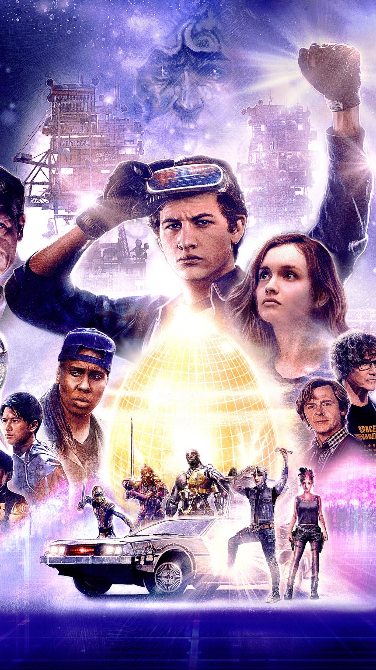 Download Wallpaper Ready Player One Poster 1242x2208
