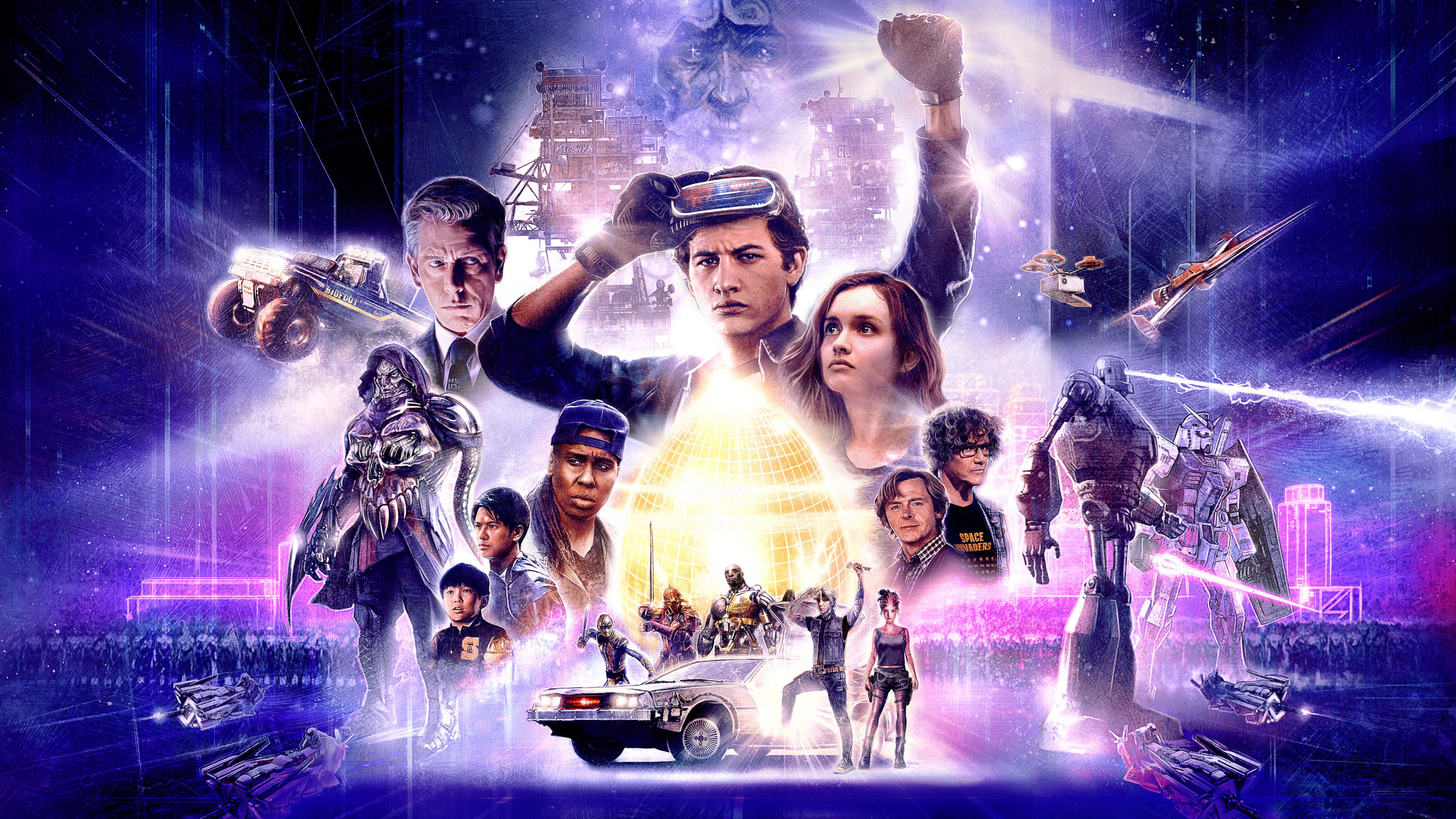 Ready Player One poster wallpaper 2560x1440