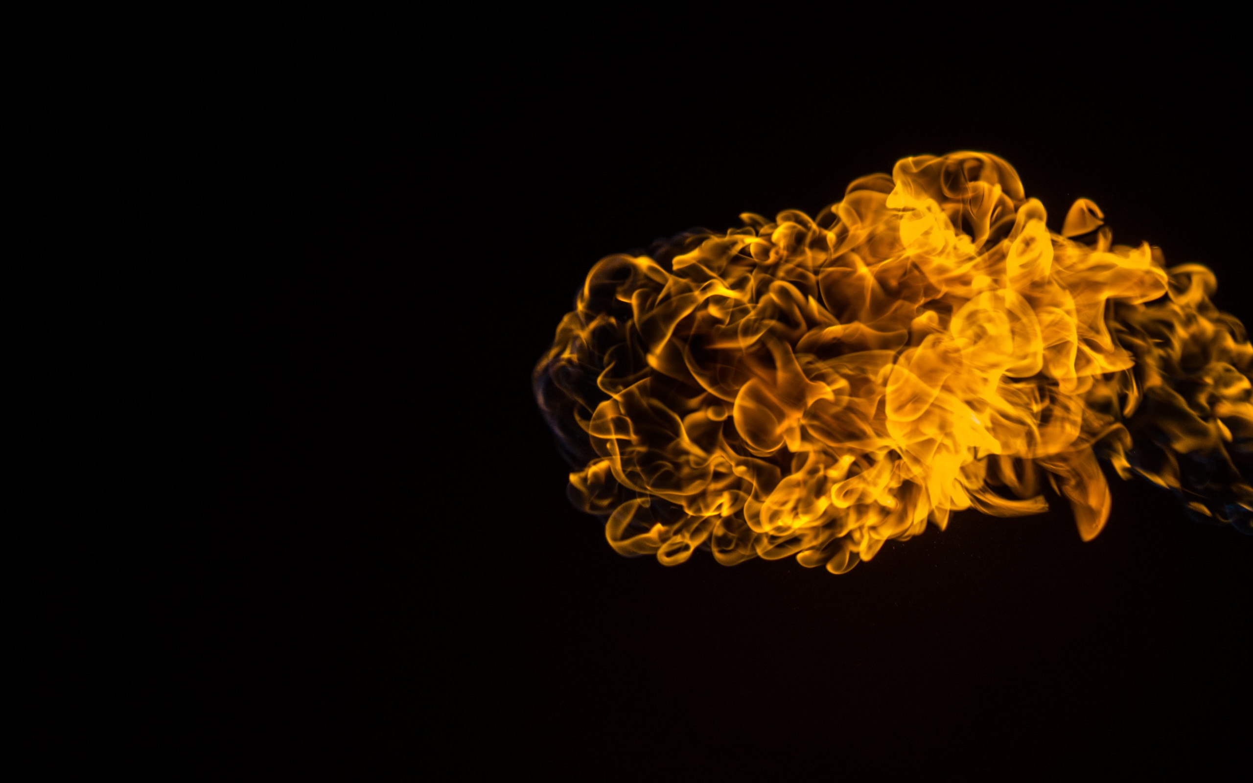 Flames effect wallpaper 2560x1600