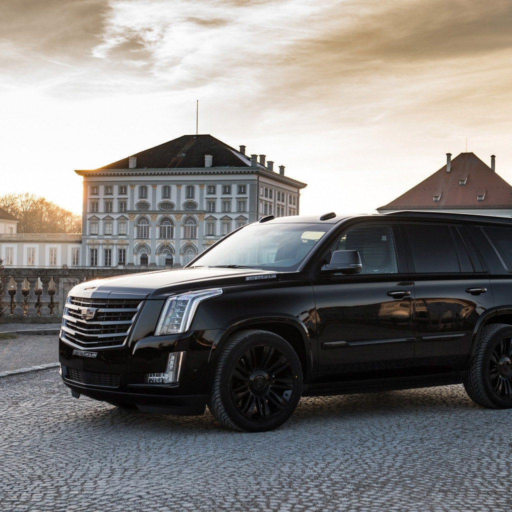 GeigerCars Cadillac Escalade Black Edition wallpaper 1024x1024