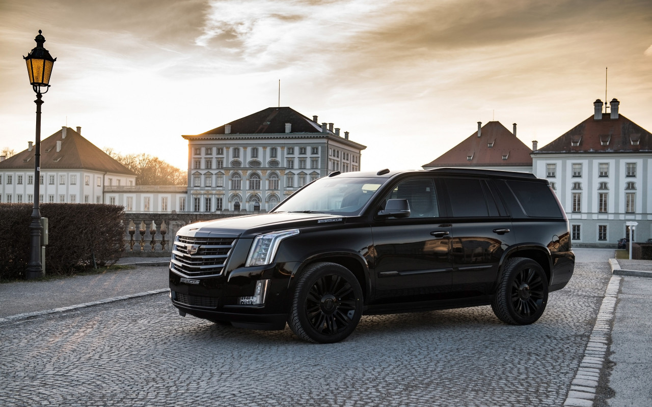 GeigerCars Cadillac Escalade Black Edition wallpaper 1280x800