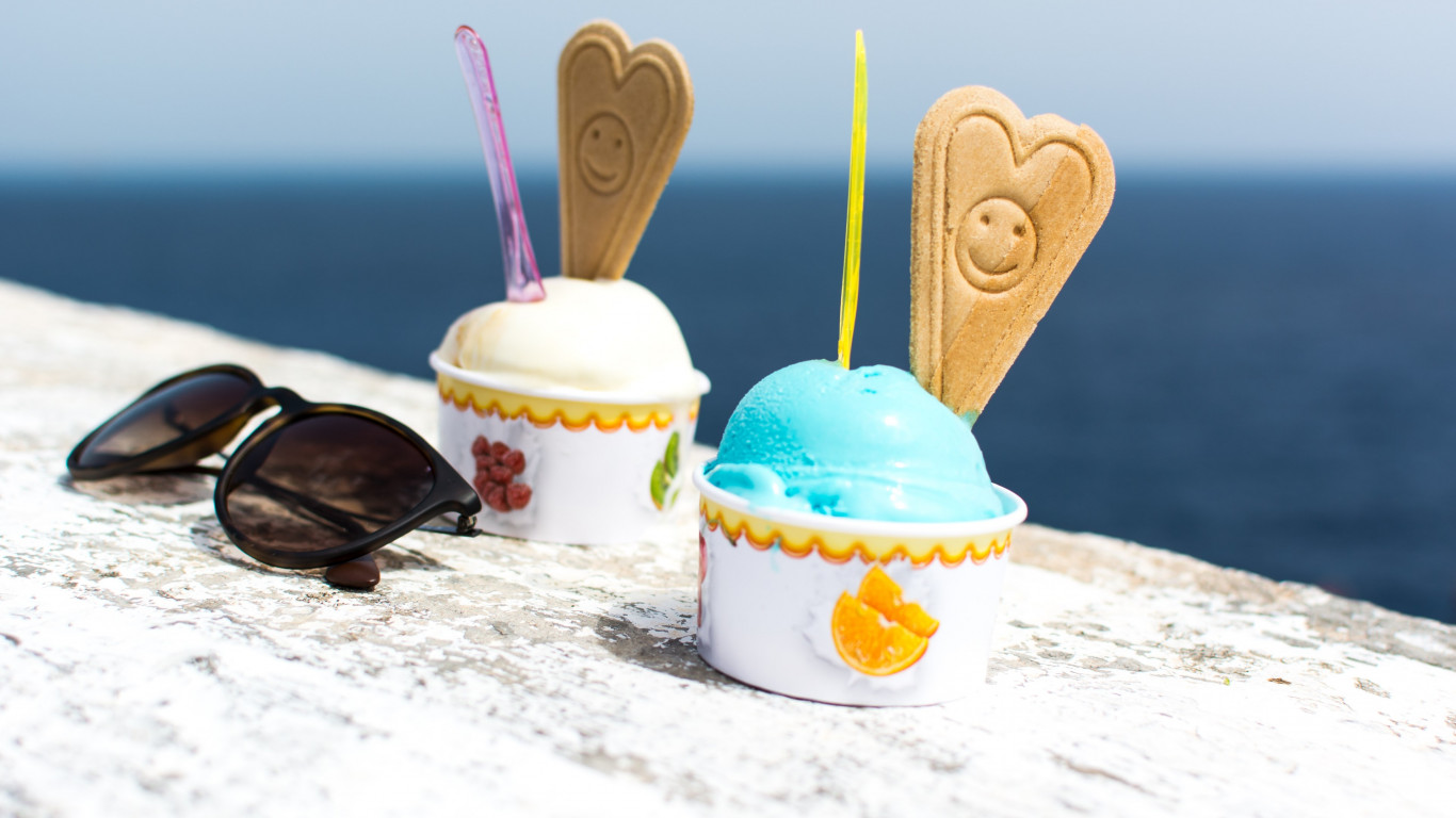 Ice cream | 1366x768 wallpaper