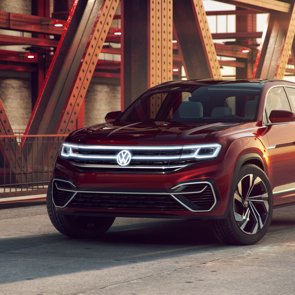 Volkswagen Atlas Cross Sport Concept wallpaper 1024x1024