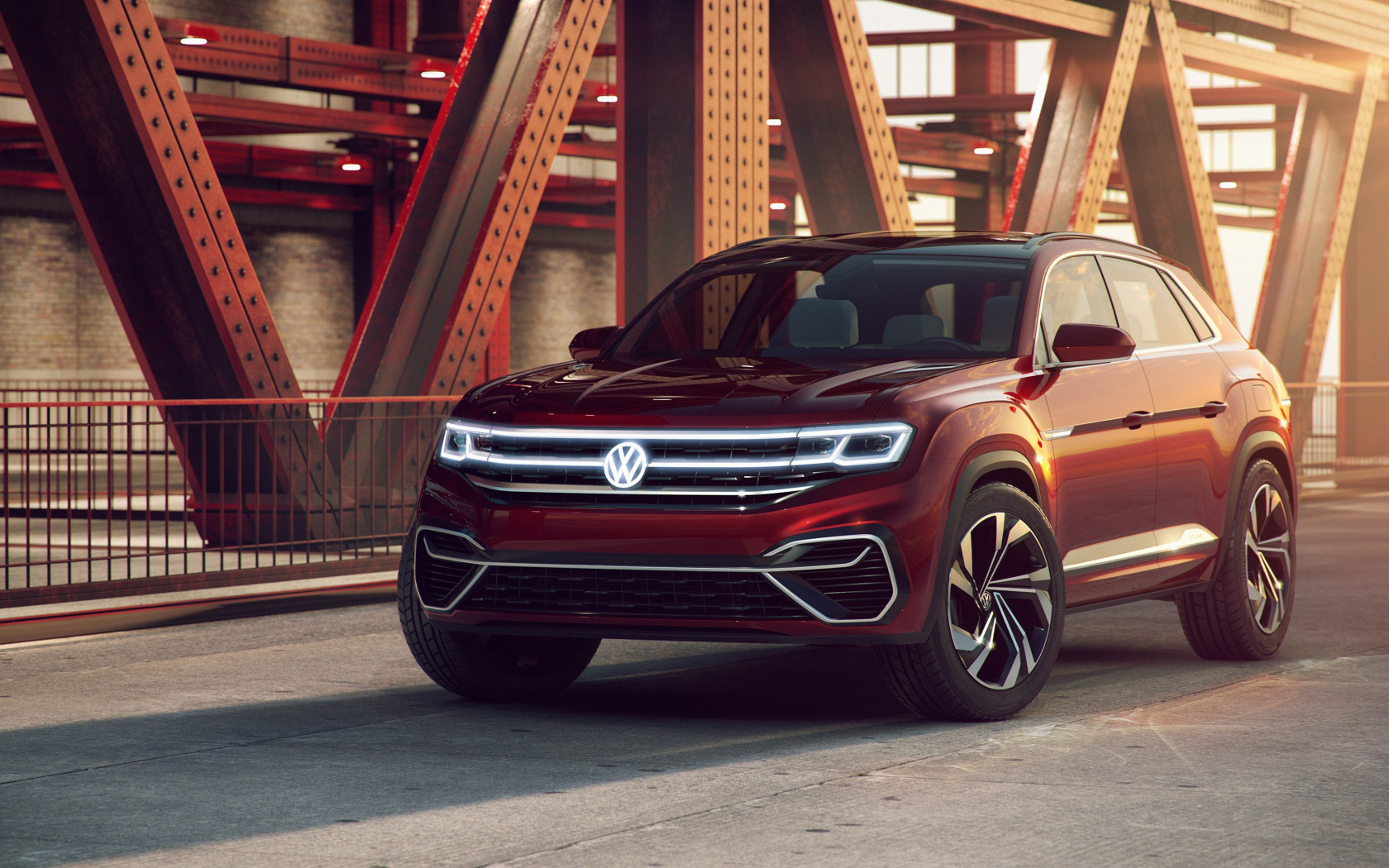 Volkswagen Atlas Cross Sport Concept | 1680x1050 wallpaper