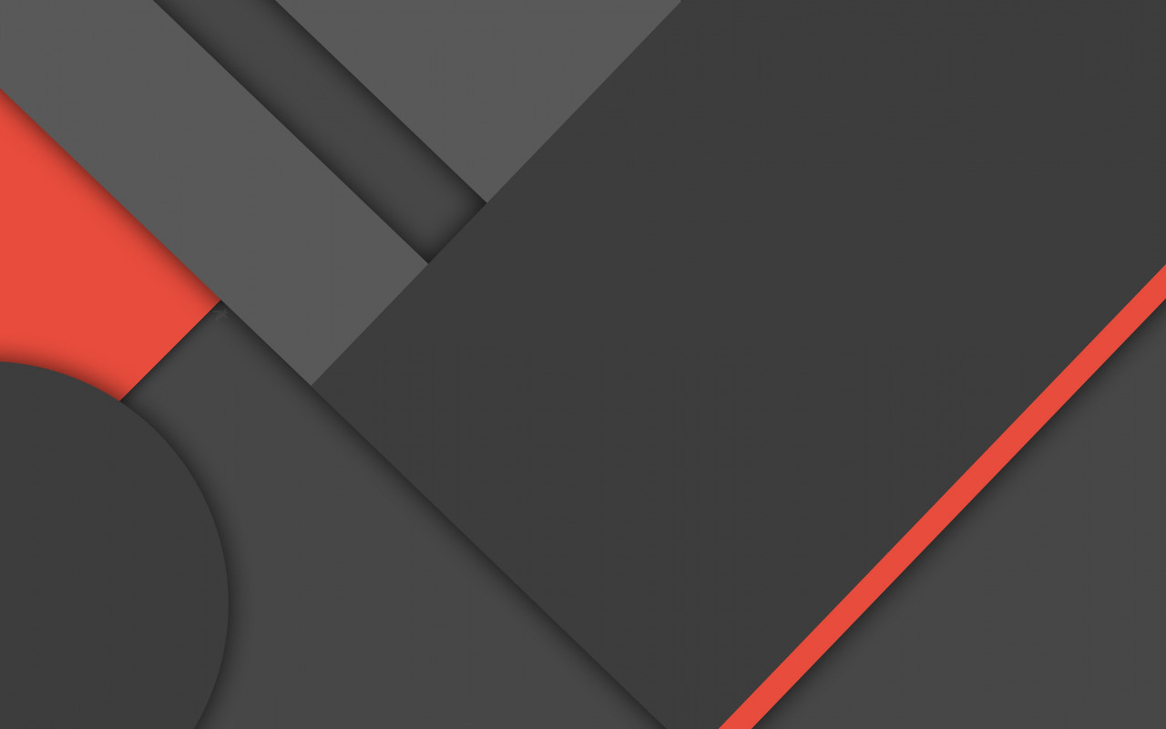 Dark material design wallpaper 1280x800