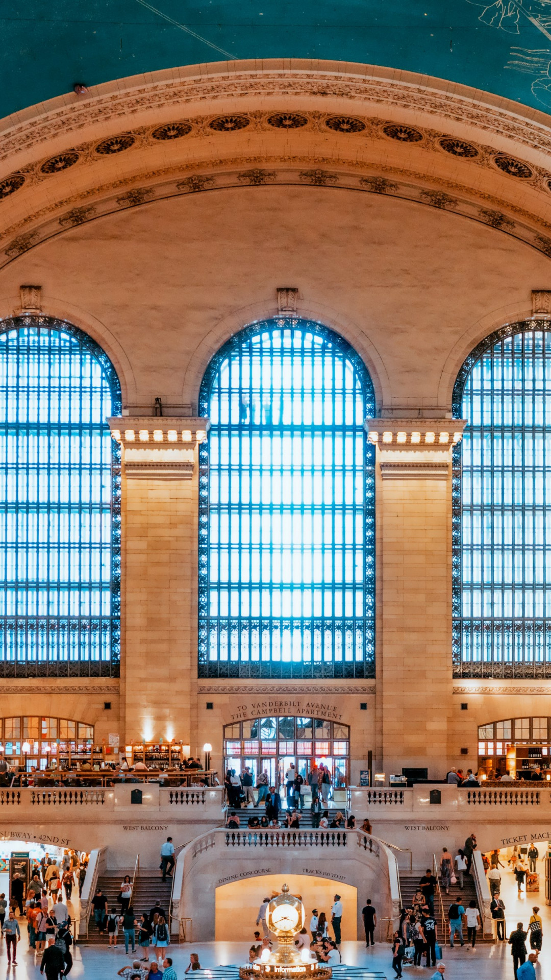 Grand Central Terminal, New York, United States wallpaper 1080x1920