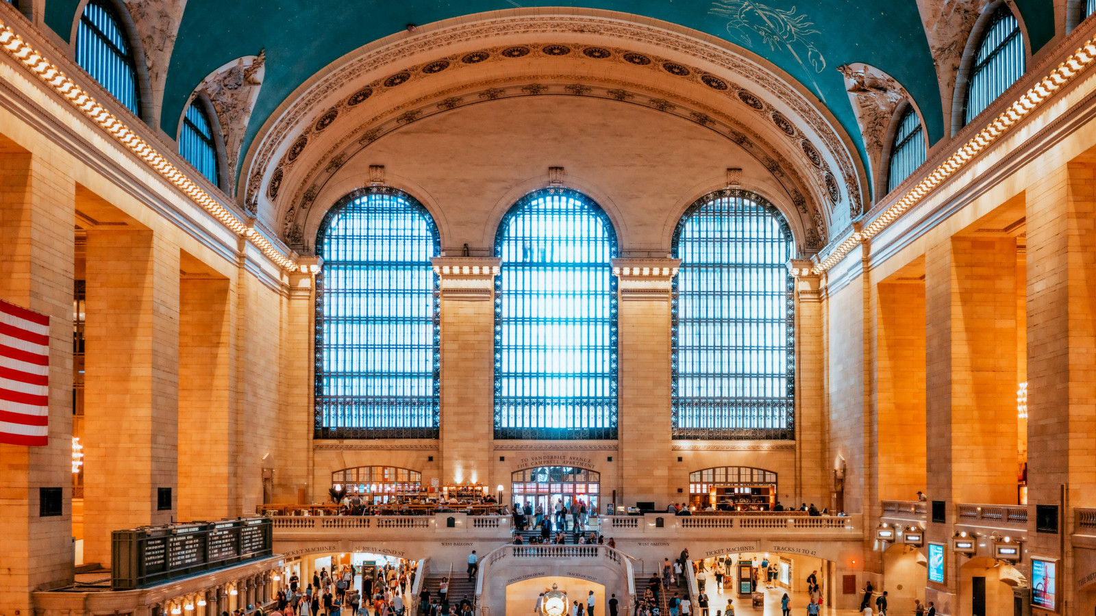 Grand Central Terminal, New York, United States | 1600x900 wallpaper