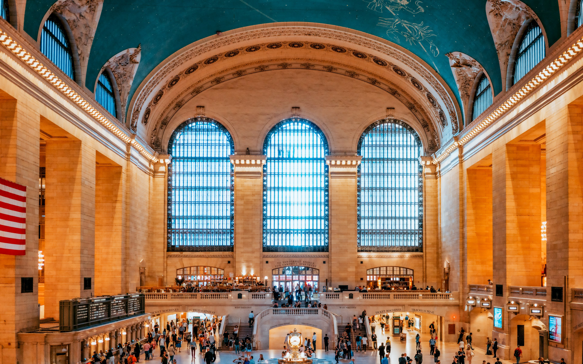 Grand Central Terminal, New York, United States wallpaper 1920x1200