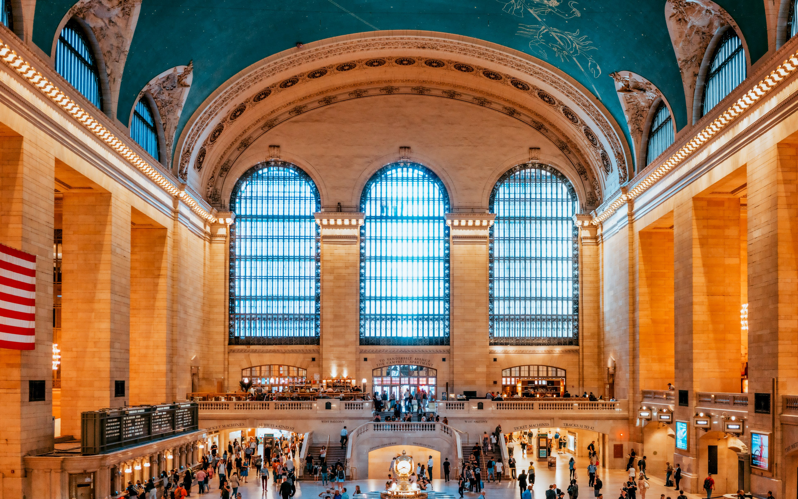 Grand Central Terminal, New York, United States wallpaper 2560x1600