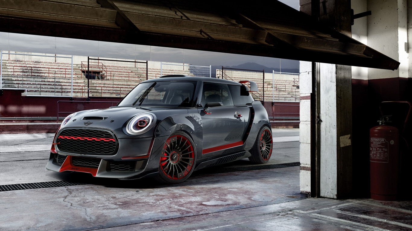 MINI John Cooper Works wallpaper 1366x768