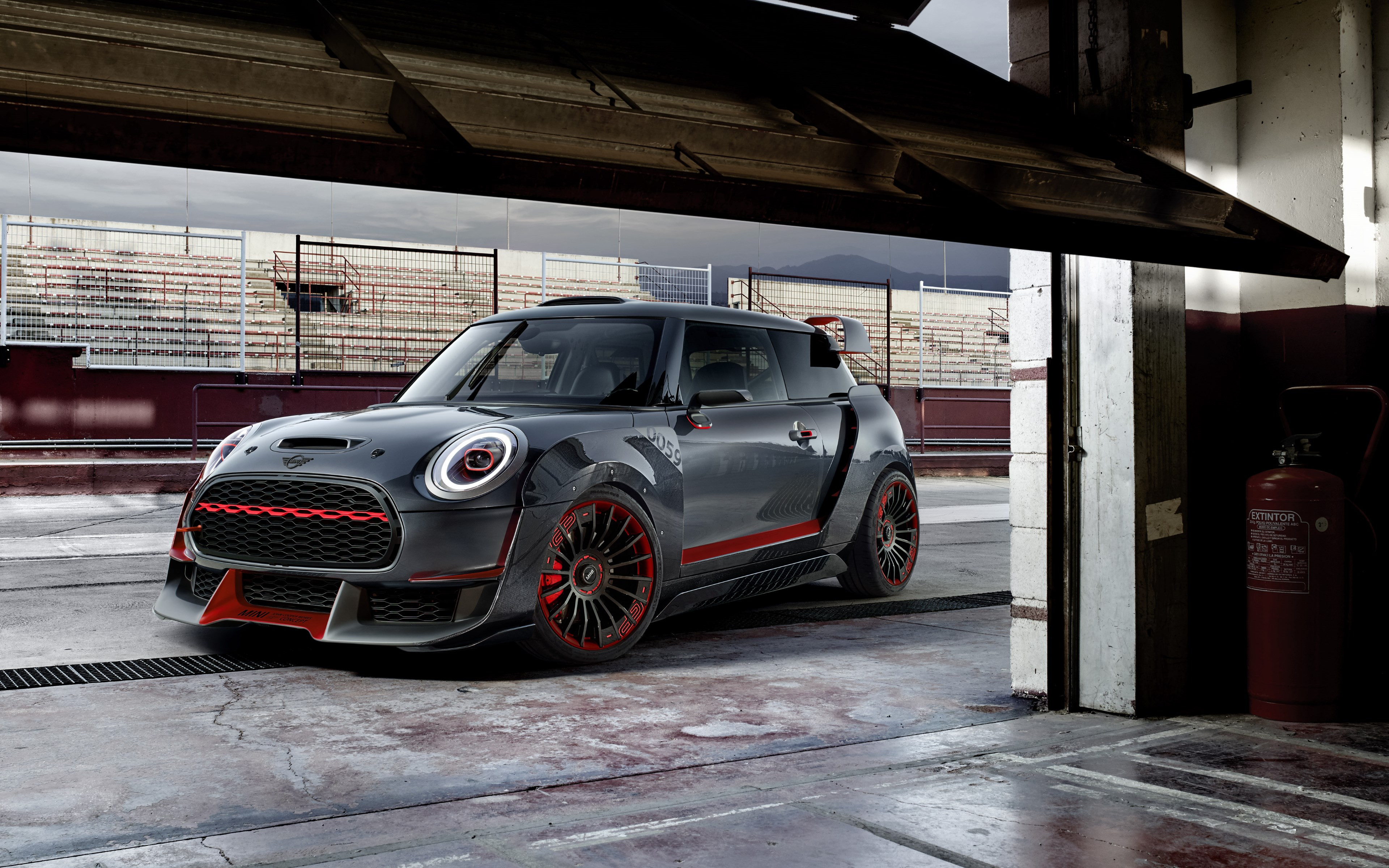 MINI John Cooper Works | 3840x2400 wallpaper