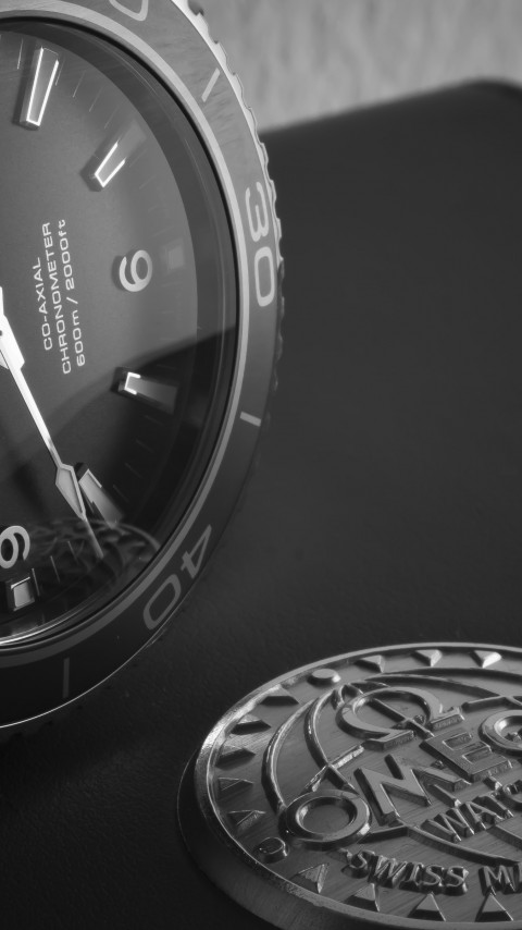 Omega Seamaster watch wallpaper 480x854