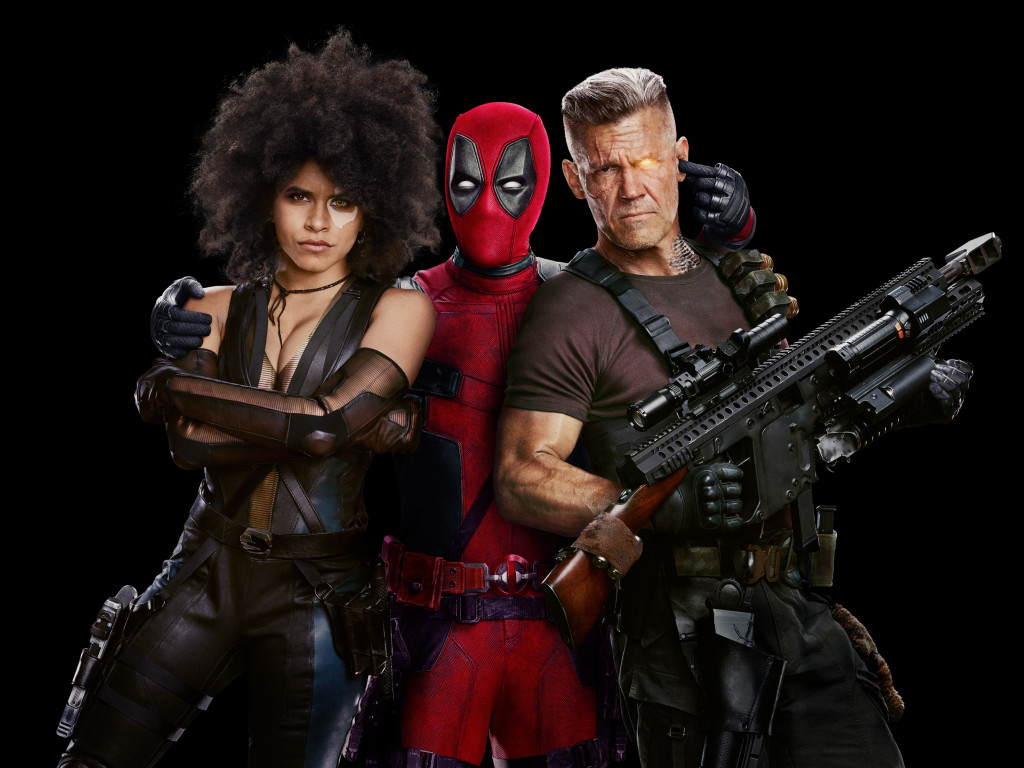 Deadpool 2 Poster wallpaper 1024x768