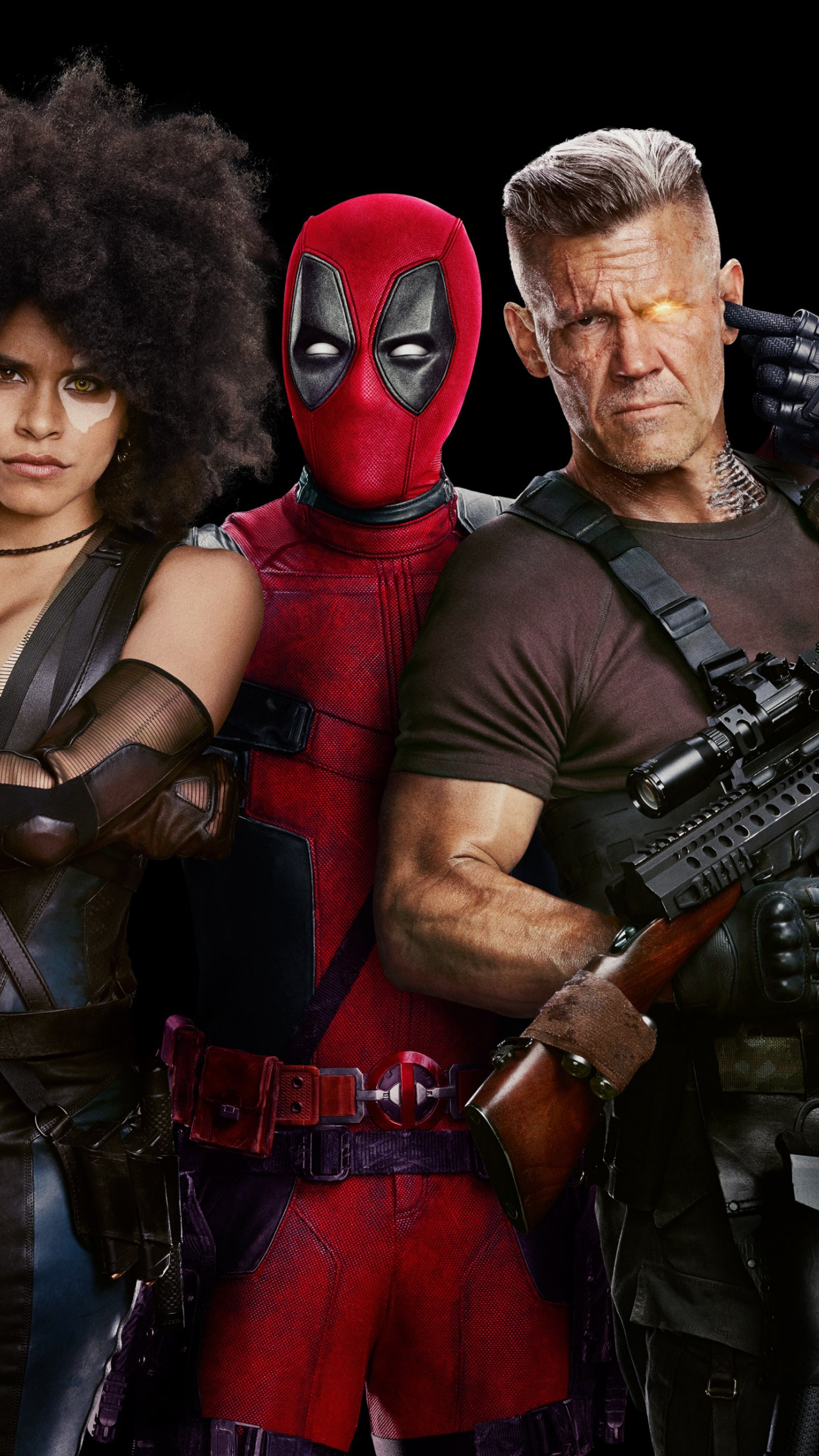 Deadpool 2 Poster wallpaper 1242x2208