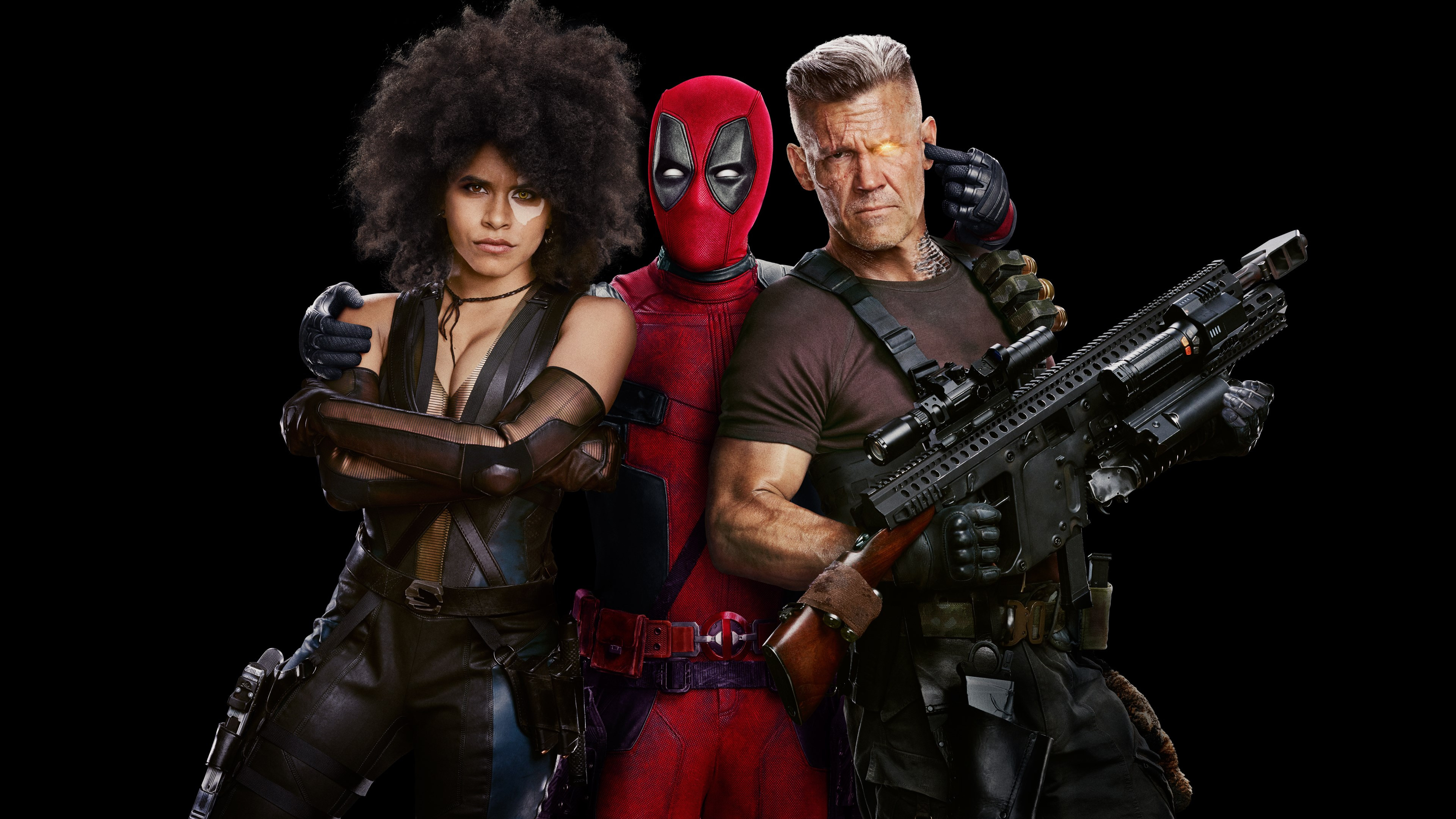 Deadpool 2 Poster wallpaper 3840x2160