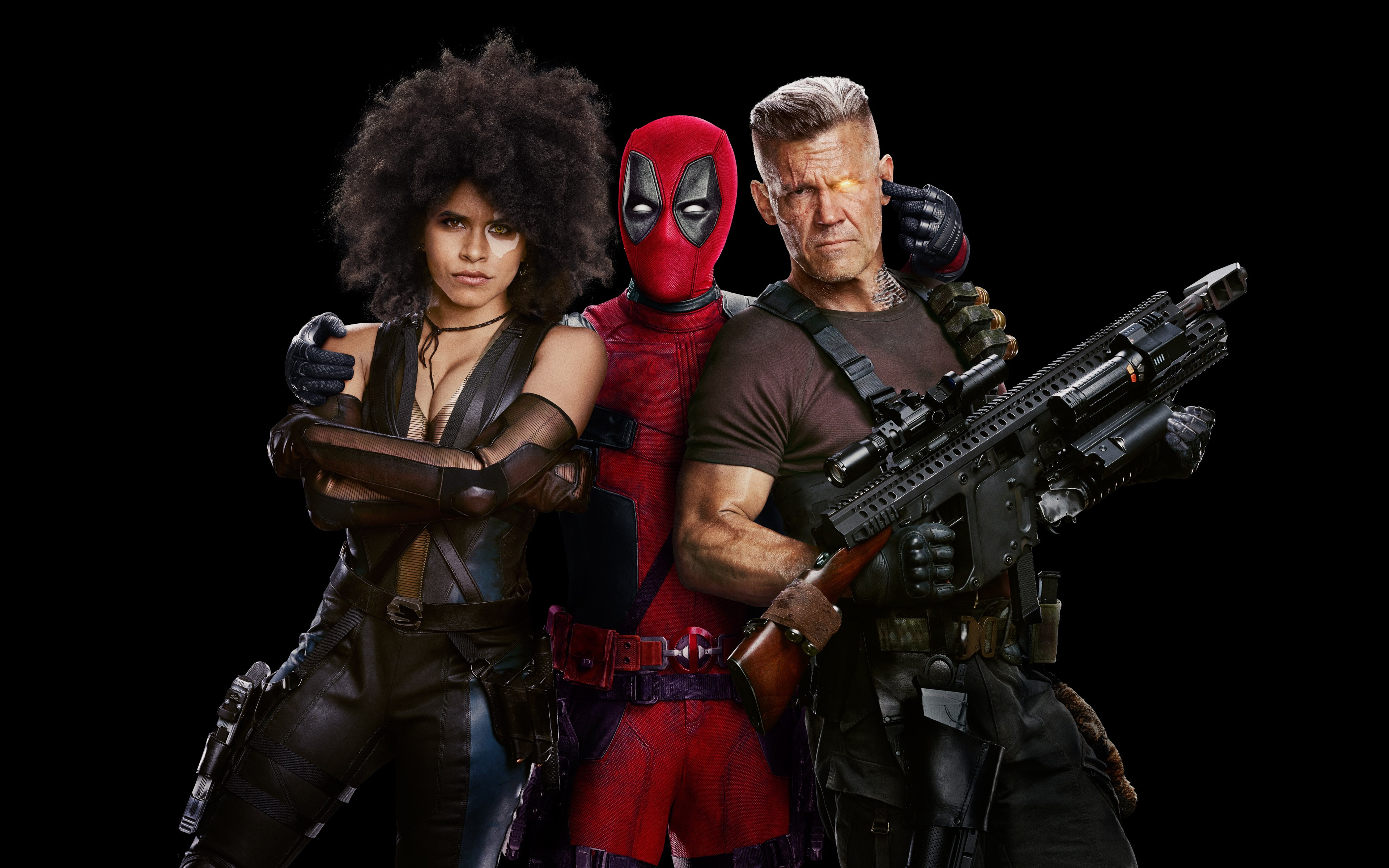 Deadpool 2 Poster wallpaper 3840x2400