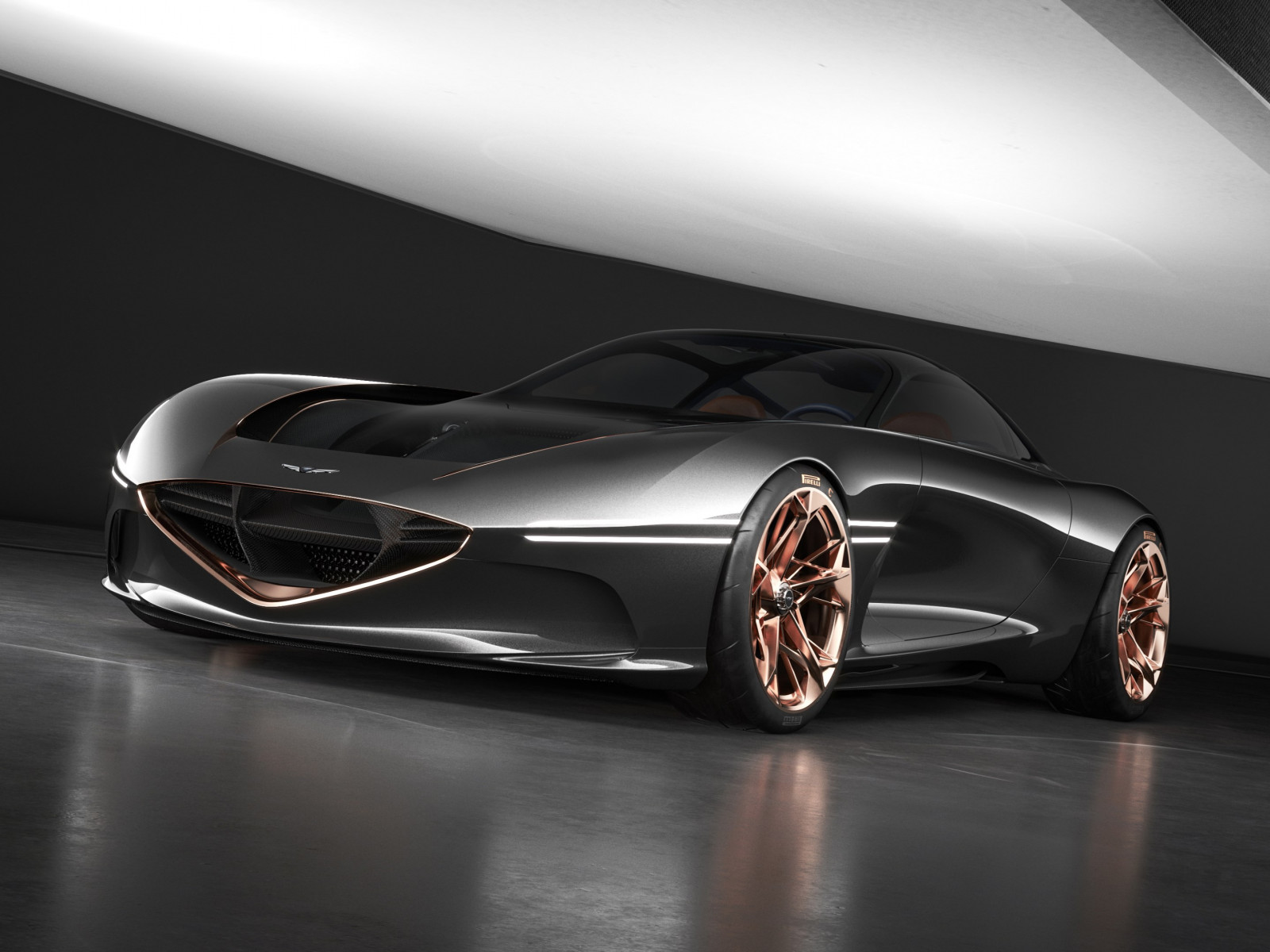 Genesis Essentia concept car wallpaper 1600x1200