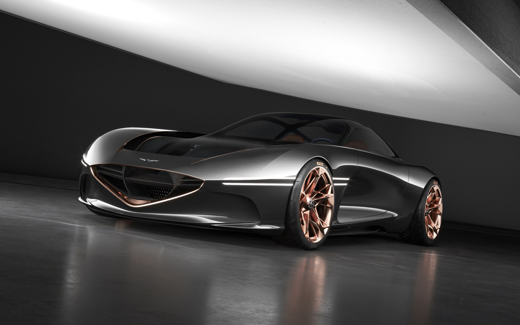Genesis Essentia concept car | 1680x1050 wallpaper