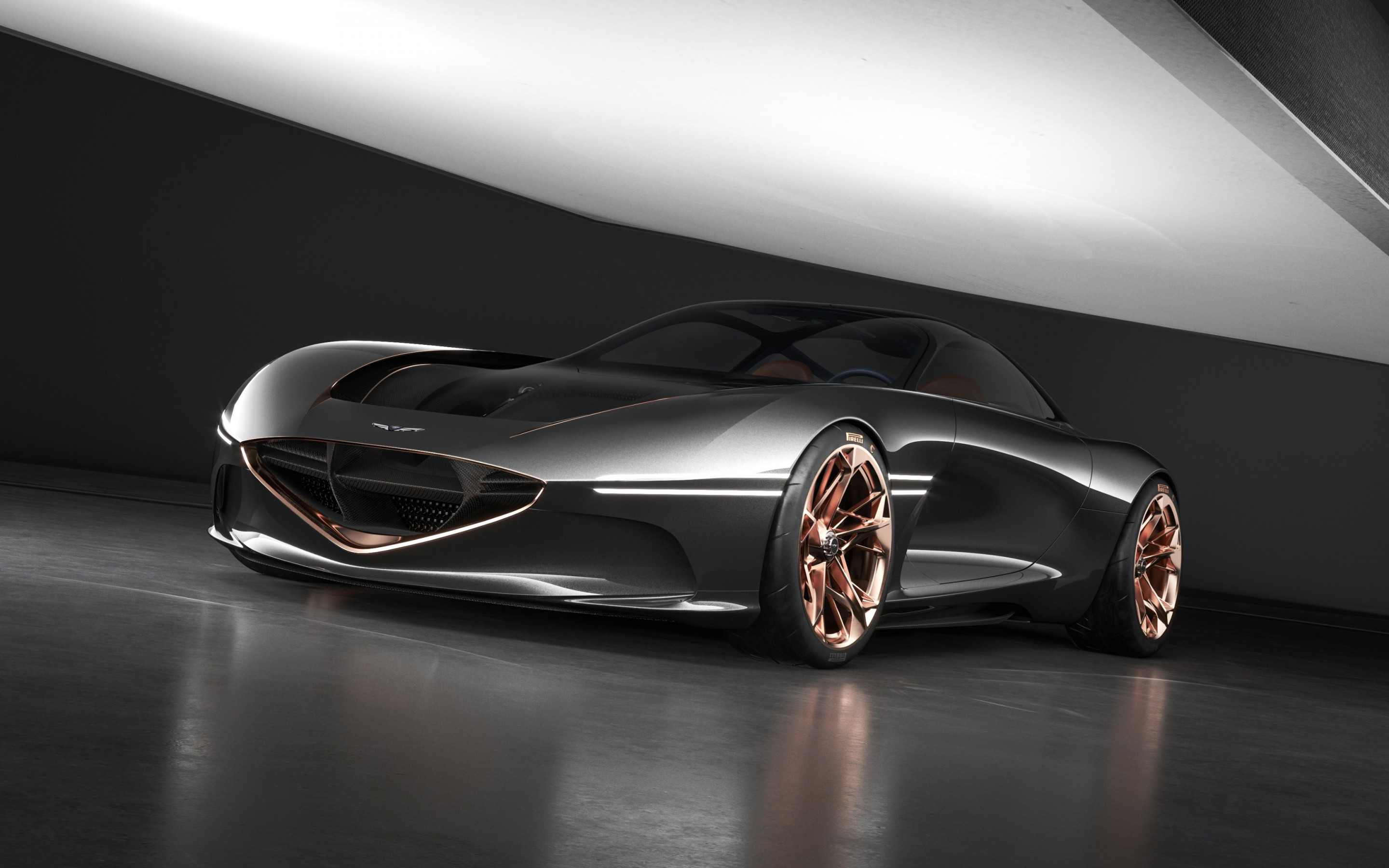 Genesis Essentia concept car wallpaper 2880x1800