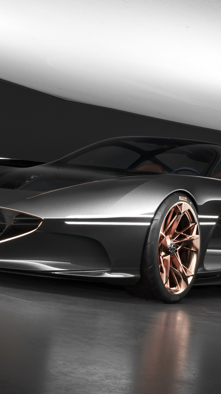 Genesis Essentia concept car wallpaper 750x1334