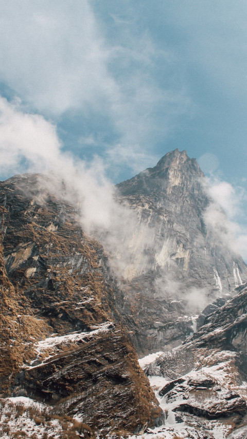 To highest peaks | 480x854 wallpaper