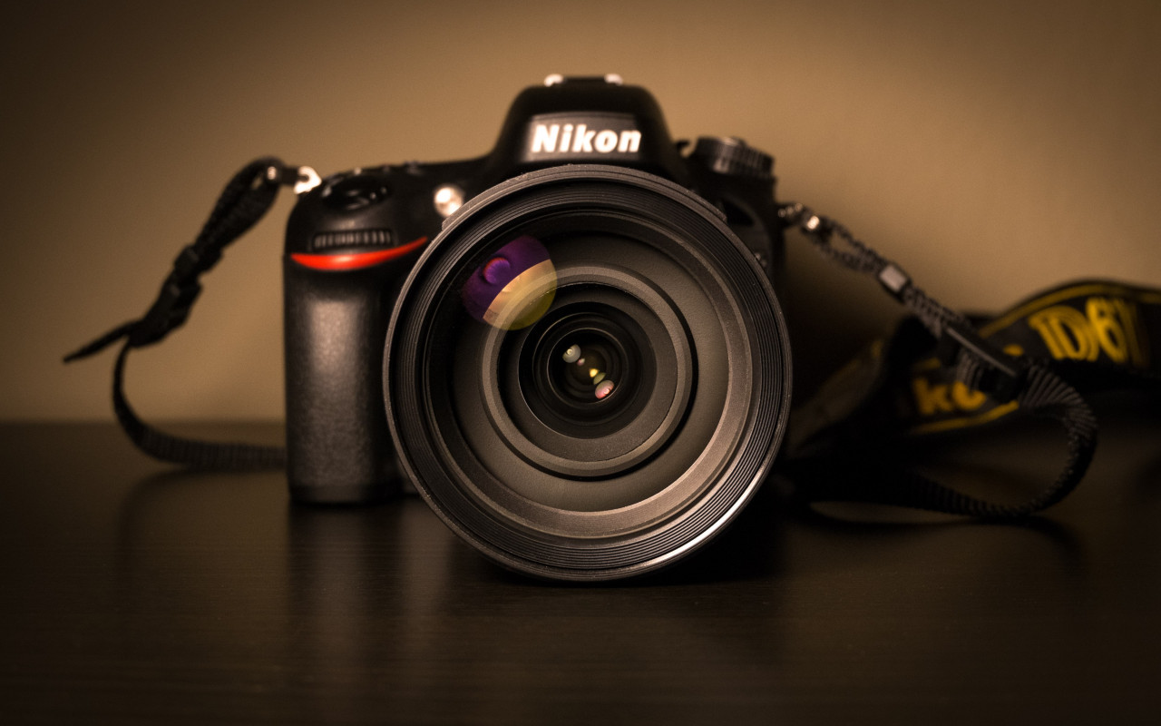 Nikon DSLR Camera | 1280x800 wallpaper