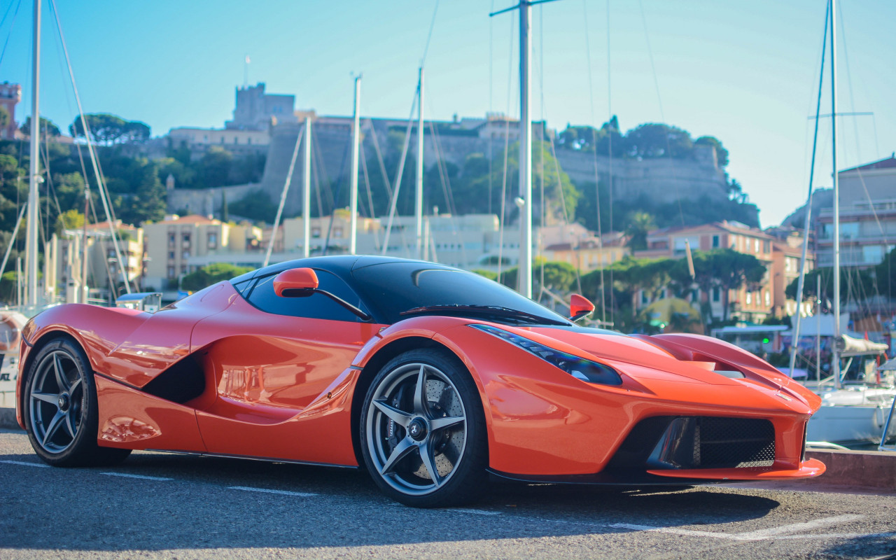 Ferrari LaFerrari wallpaper 1280x800