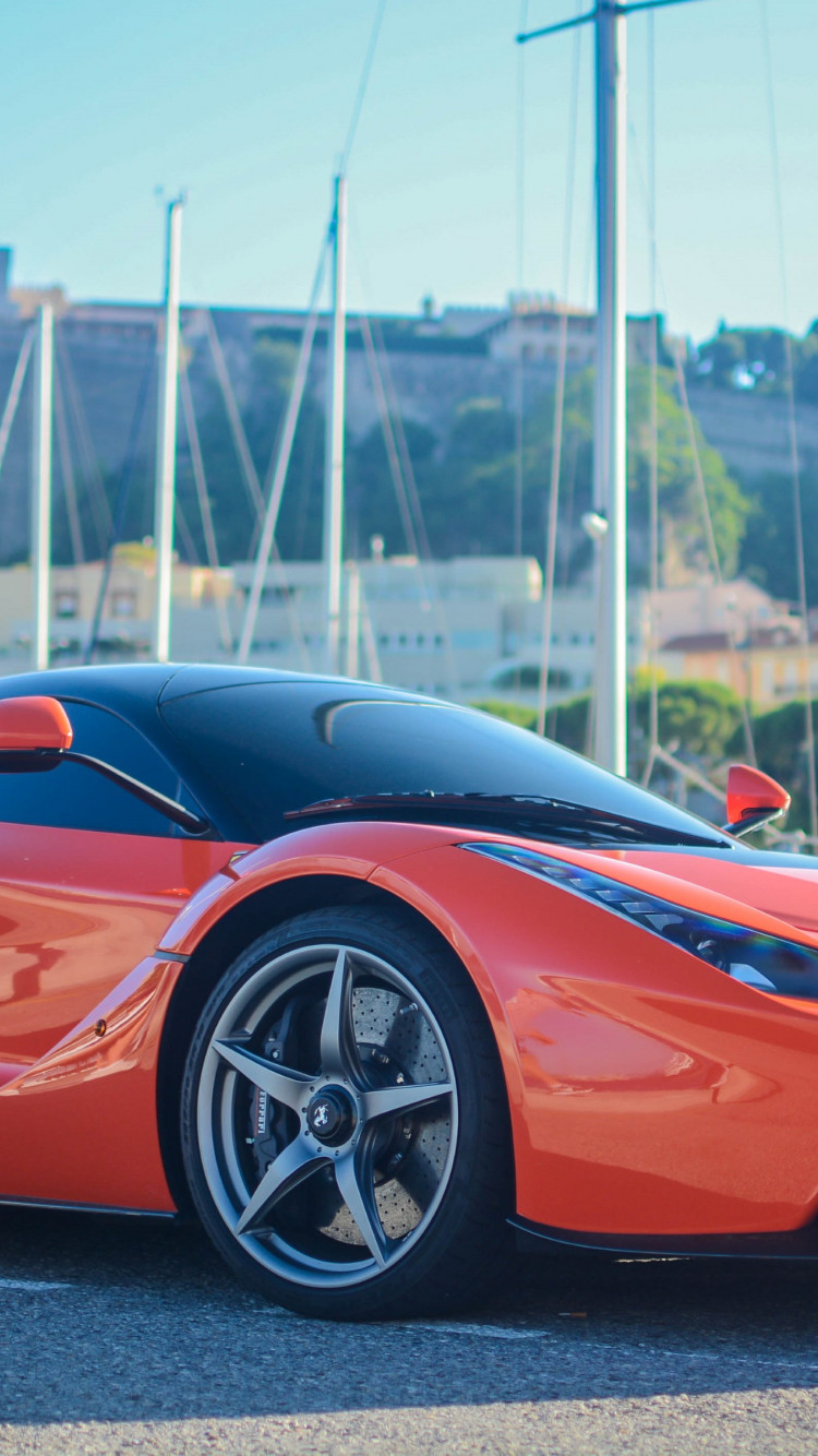 Ferrari LaFerrari wallpaper 750x1334
