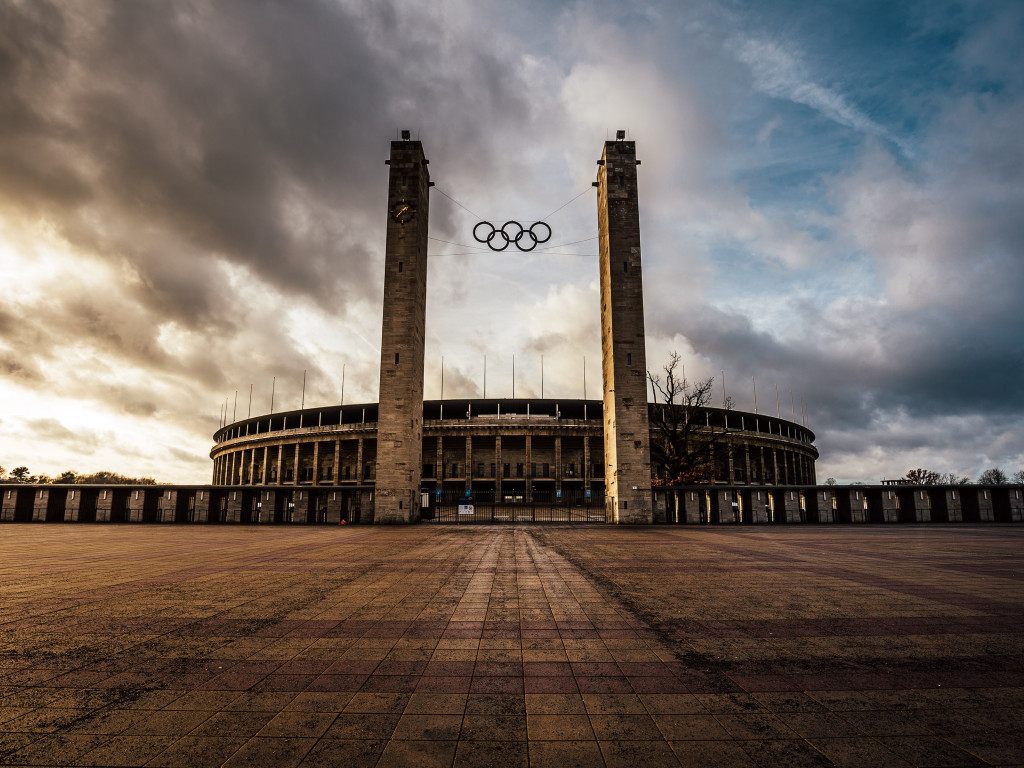 The Olympiastadion from Berlin | 1024x768 wallpaper