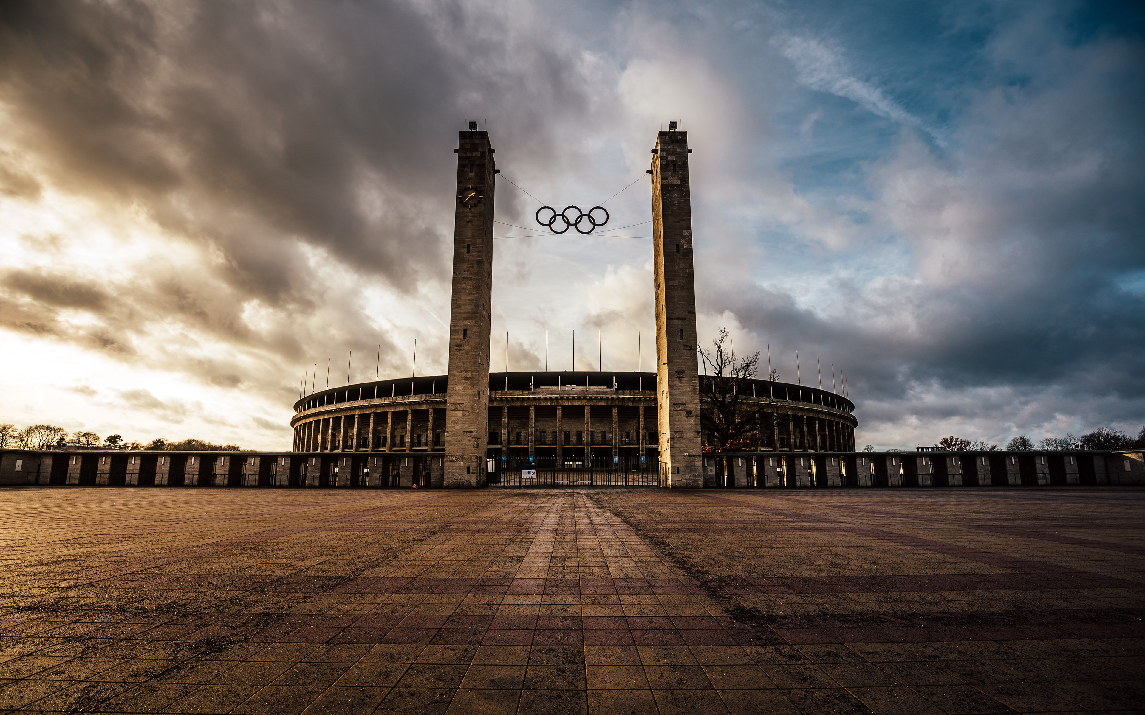 The Olympiastadion from Berlin | 3840x2400 wallpaper