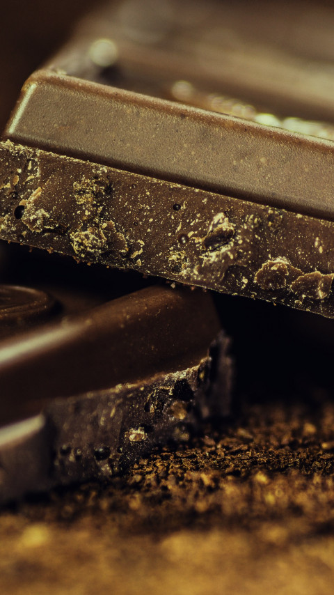 Black chocolate wallpaper 480x854