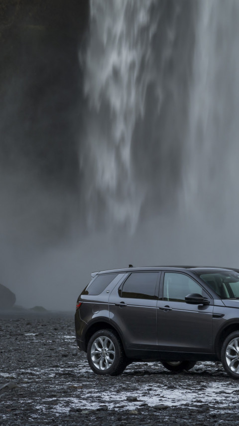 Land Rover Discovery Sport wallpaper 480x854