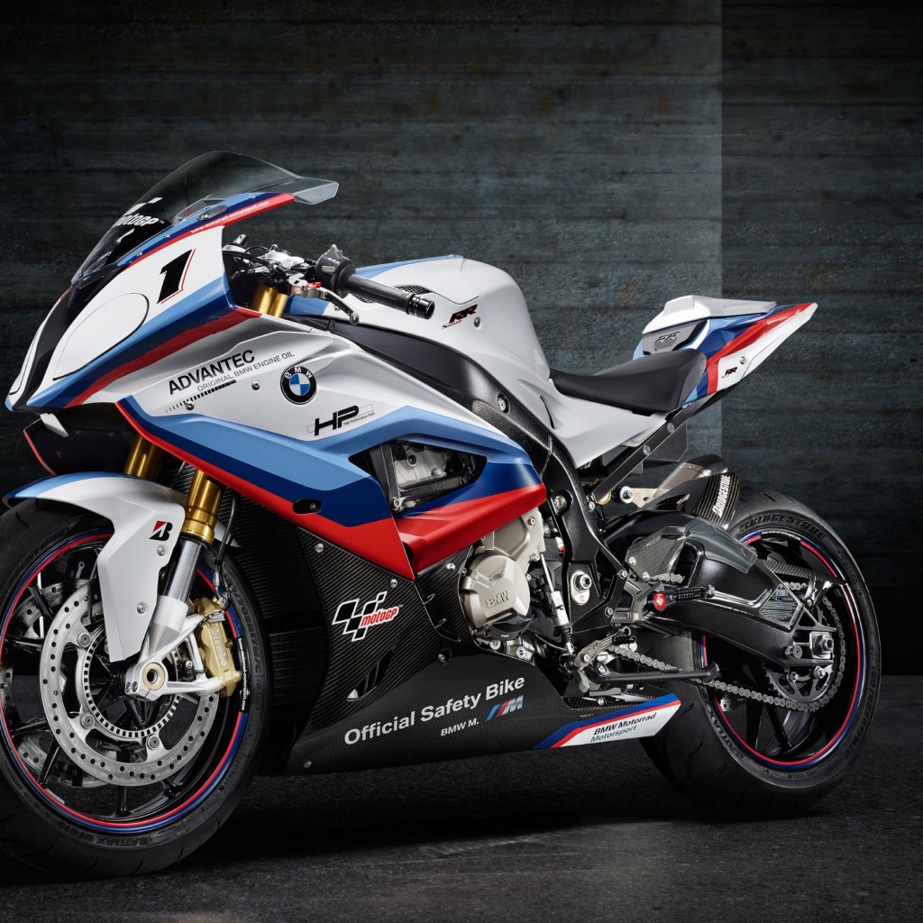 BMW S1000RR MotoGP Safety Motorcycle | 1024x1024 wallpaper