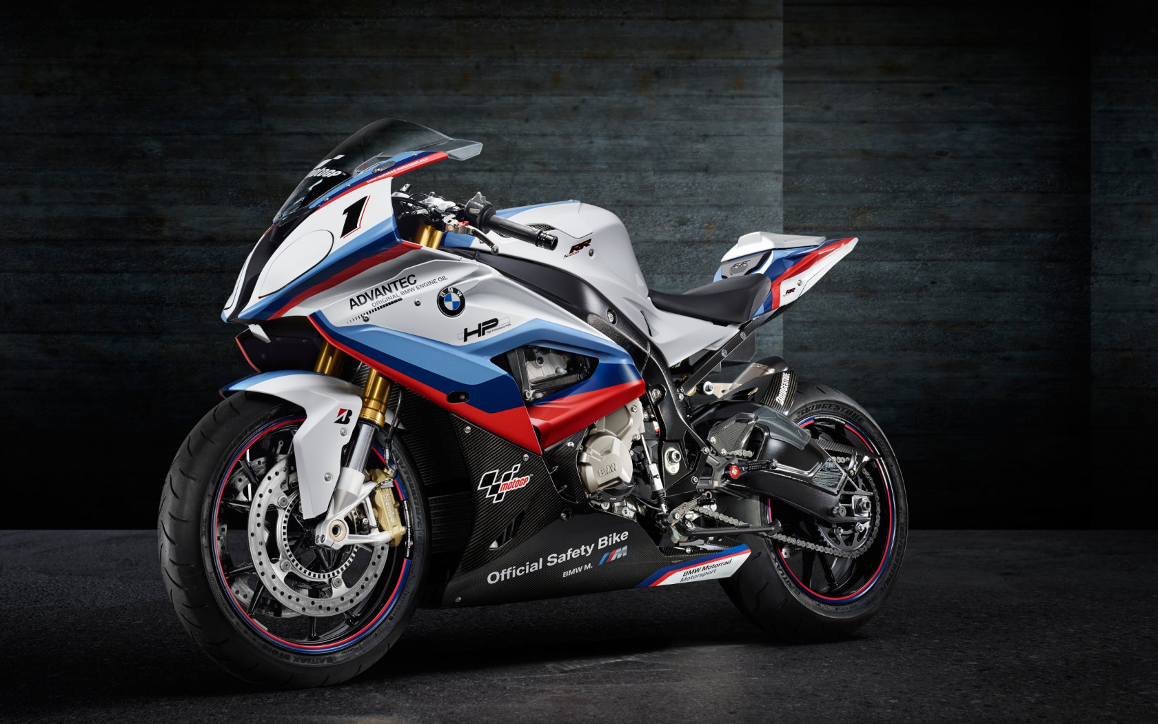BMW S1000RR MotoGP Safety Motorcycle | 1680x1050 wallpaper