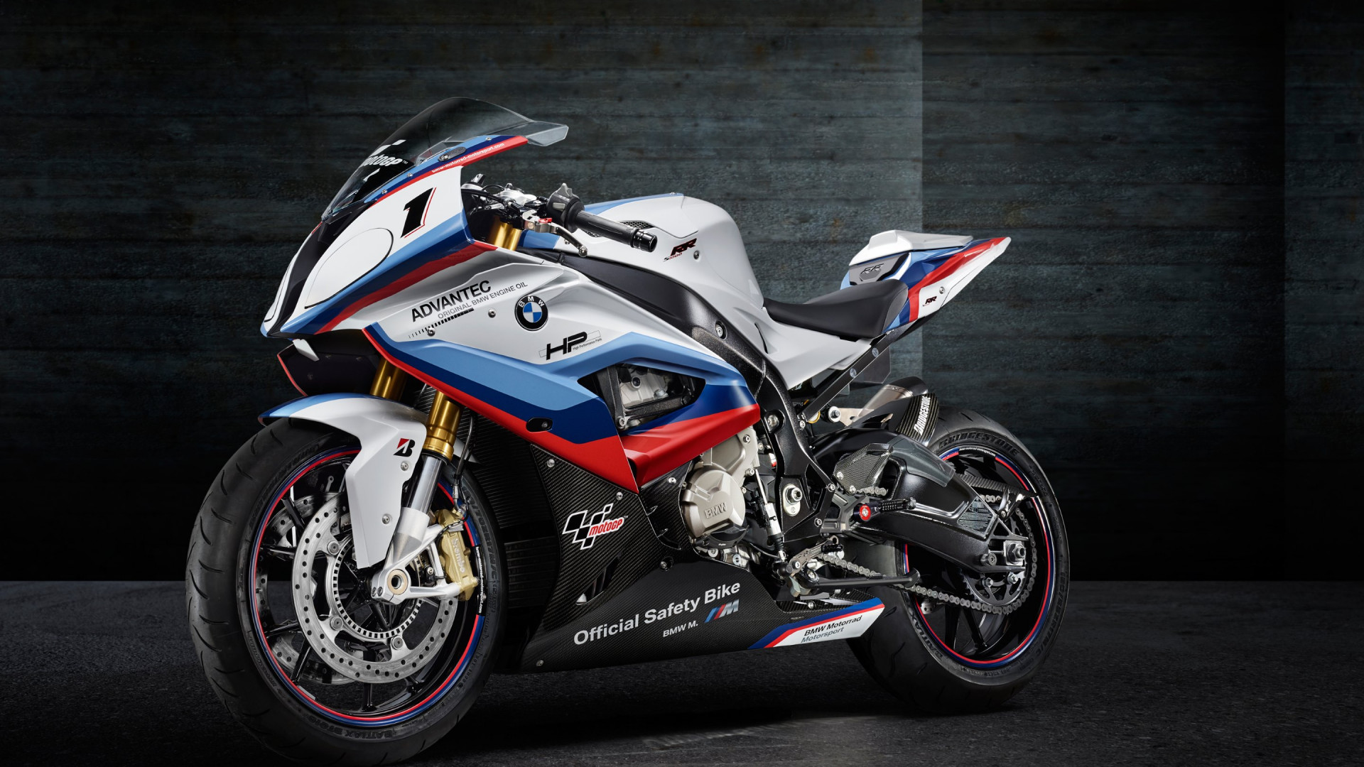BMW S1000RR MotoGP Safety Motorcycle | 1920x1080 wallpaper
