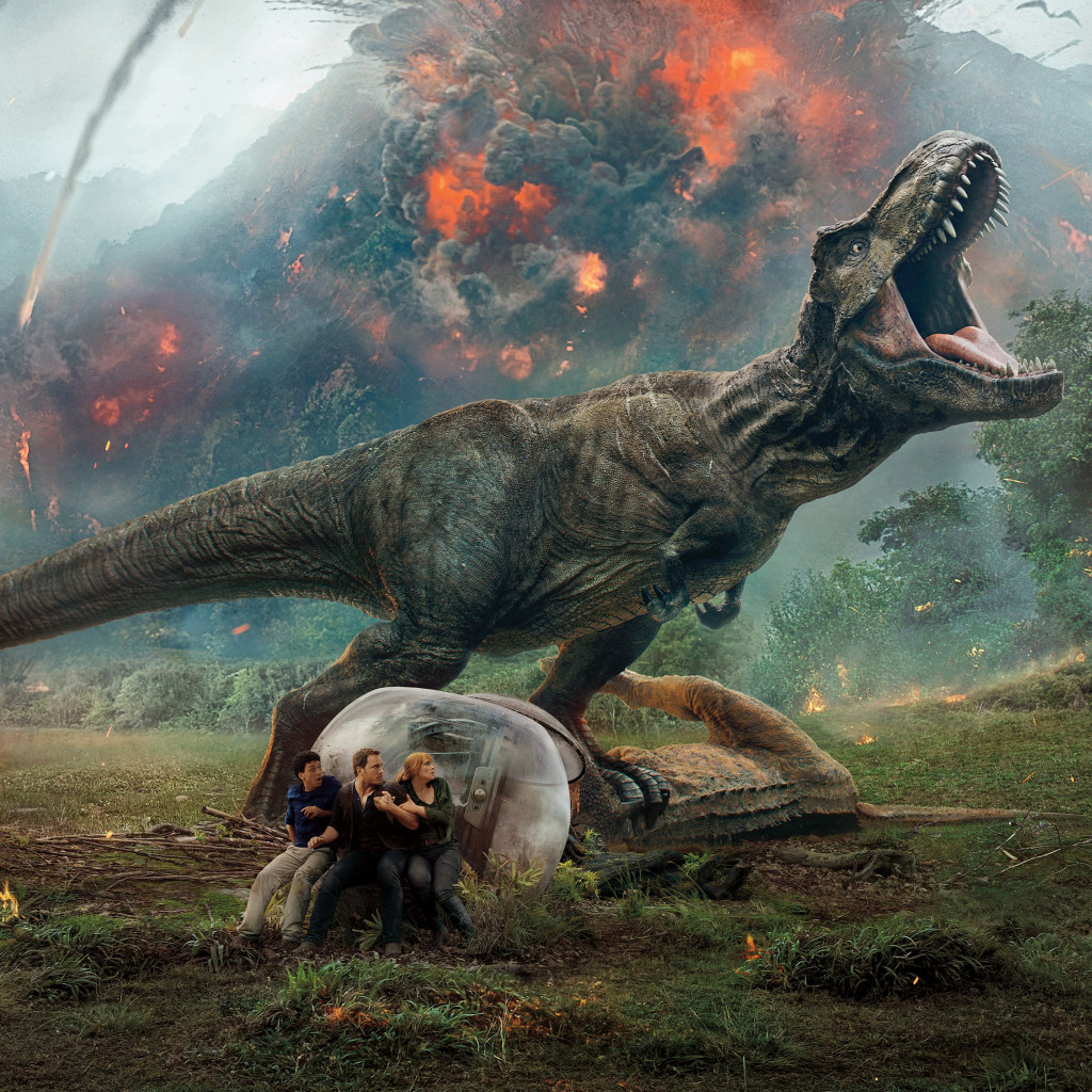 Jurassic World: Fallen Kingdom | 1024x1024 wallpaper