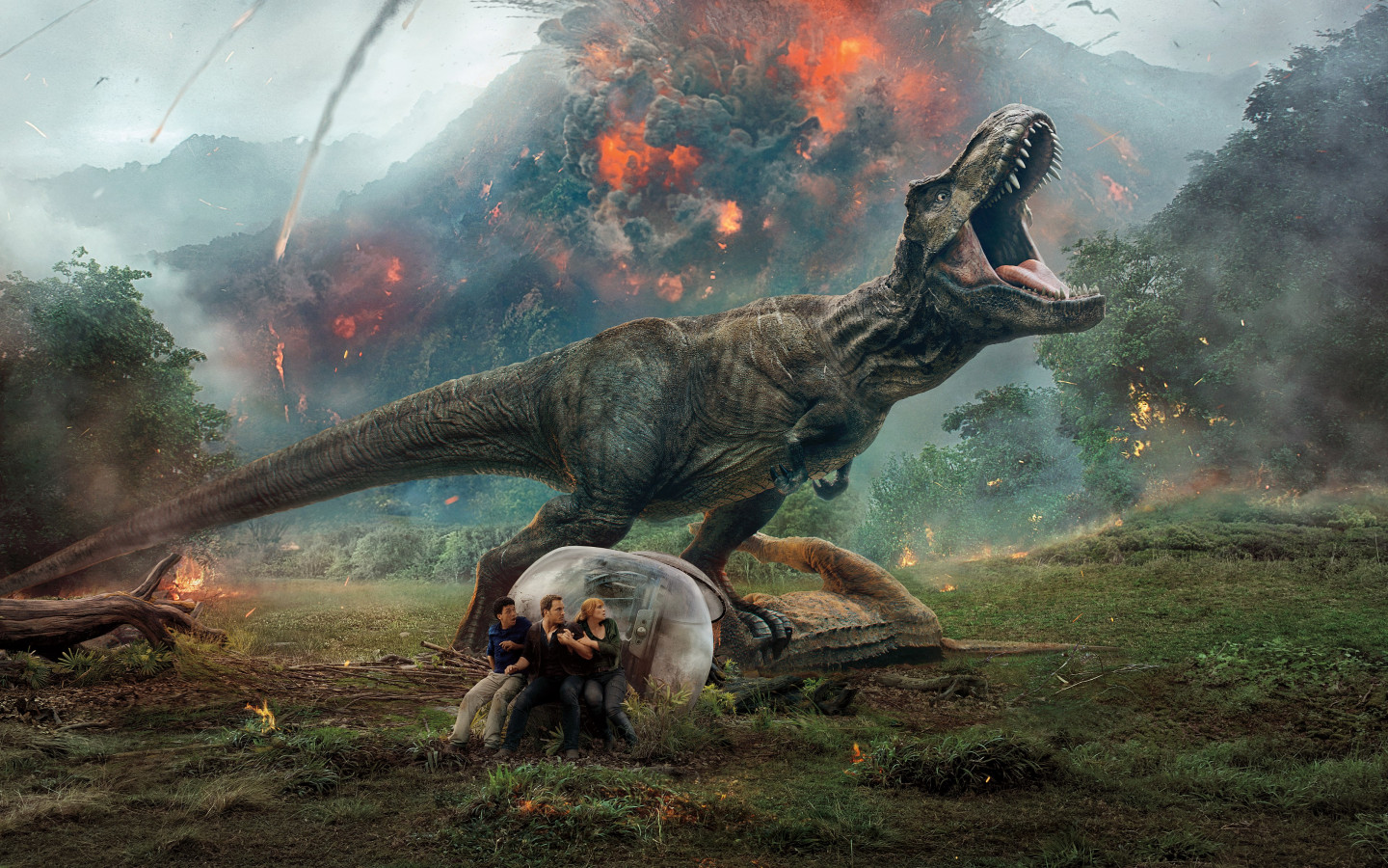 Jurassic World: Fallen Kingdom wallpaper 1440x900